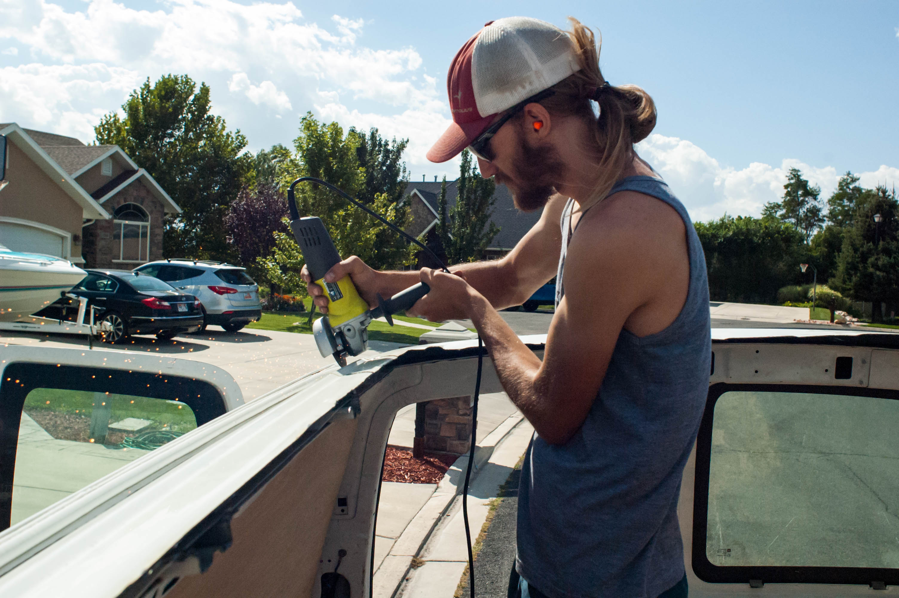 Building the Extended Roof for The Van: Phase One – Simply