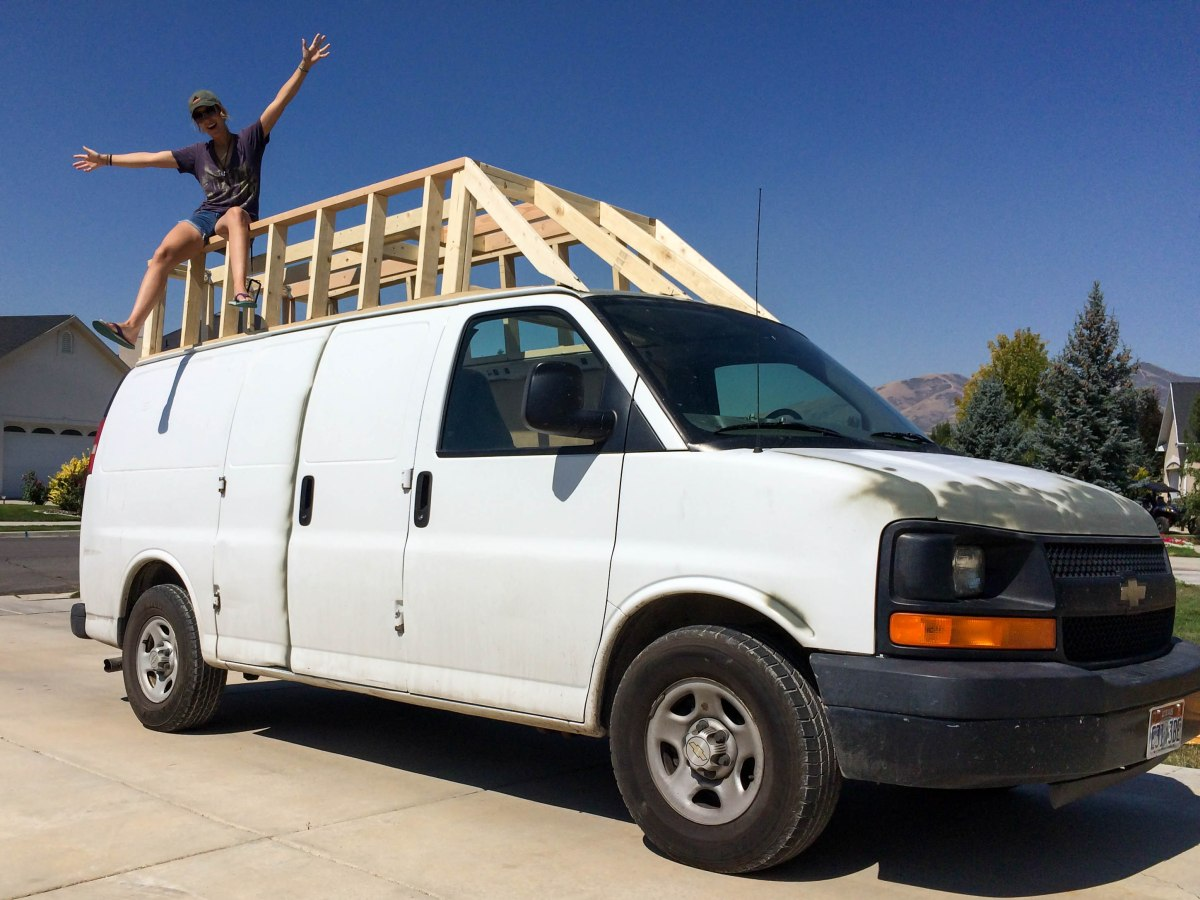 Sprinter Van For Sale Craigslist >> Building the Extended Roof for The Van: Phase One – Simply Mountain People